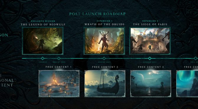 UBISOFT REVELA DETALLES DEL PLAN POST LANZAMIENTO DE ASSASSIN'S CREED VALHALLA