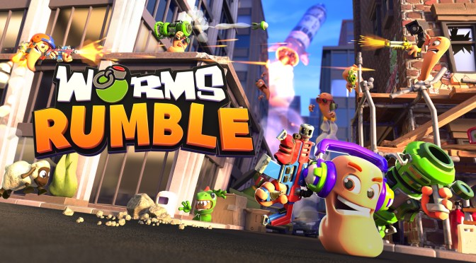 INCOMING! Worms Rumble PlayStation/PC crossplay beta announcedsd