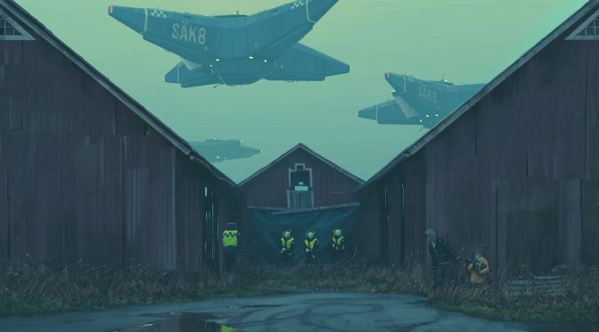"Kickstarter for Simon Stålenhag's New Narrative Art Book ""The Labyrinth"" is Live!"