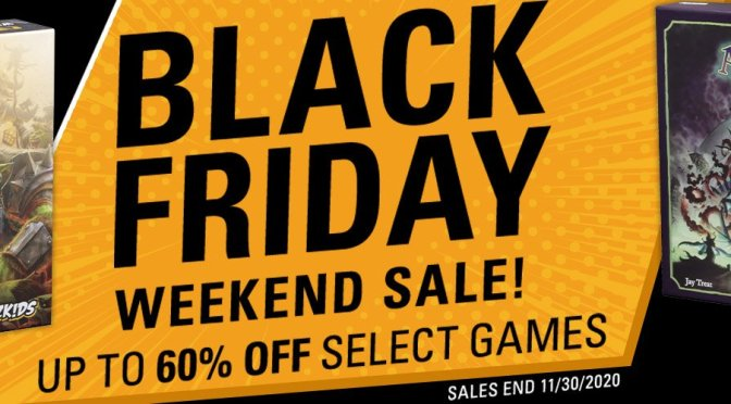 Up to 60% off Select Board Games and More — Black Friday Weekend Sale!