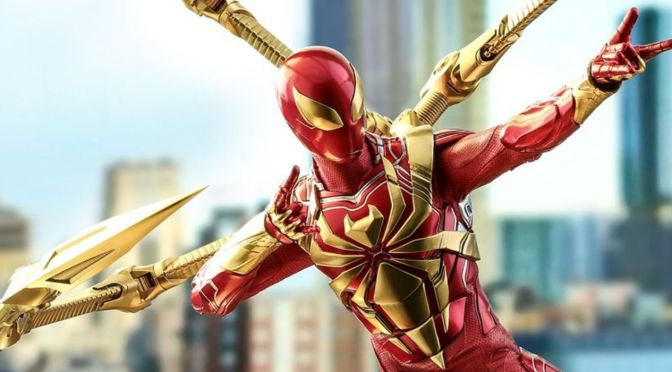 Unbox Review Iron Spider Hot Toys 1/6 Spider Man Civil War Comic Version