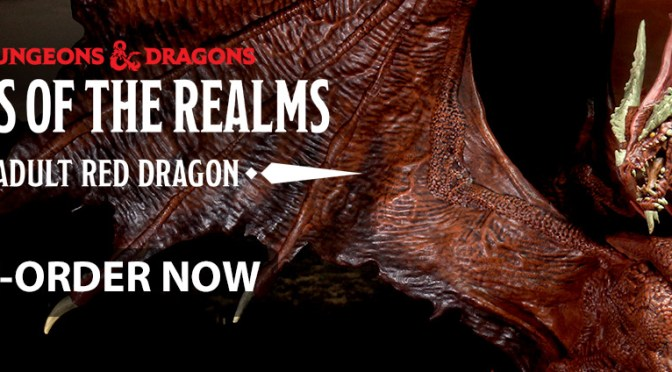 D&D Icons of the Realms: Yawning Portal Inn, Adult Red Dragon and More!