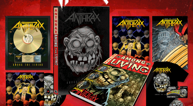 Anthrax is releasing a graphic novel adaptation of their iconic 1987 album titled Among The Living!