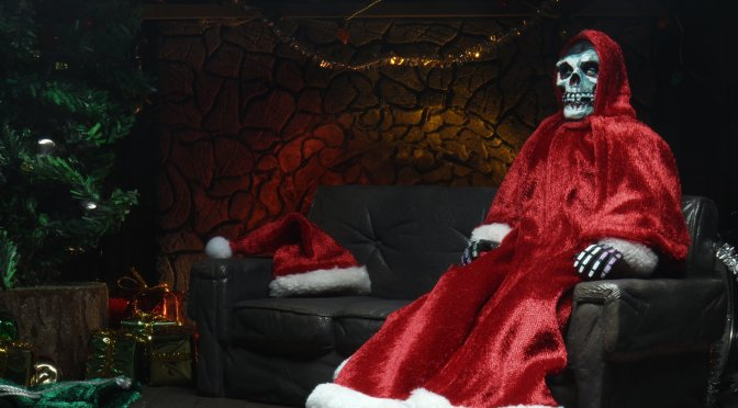 Now available in limited quantities 8″ Clothed Action Figure – Holiday Fiend!