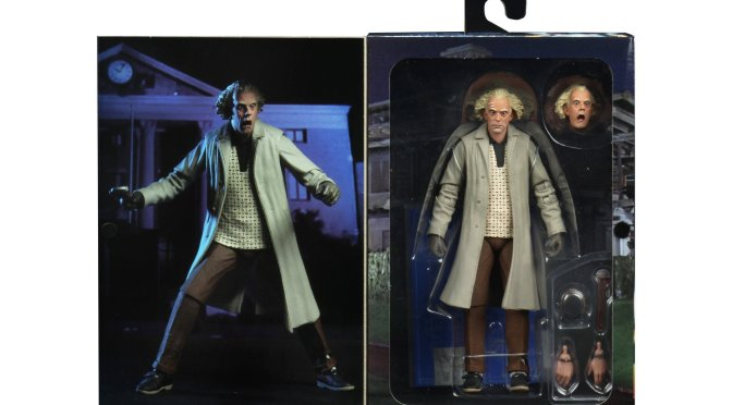 Final packaging photos for the Ultimate Doc Brown