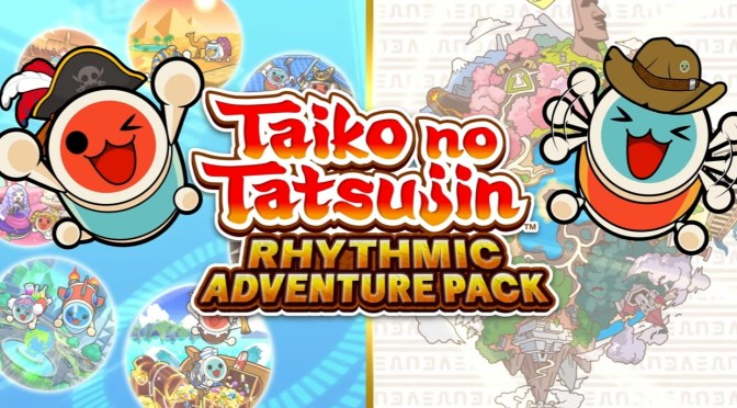 ¡Anuncian TAIKO NO TATSUJIN: Rhythmic Adventure Pack para el Nintendo Switch!