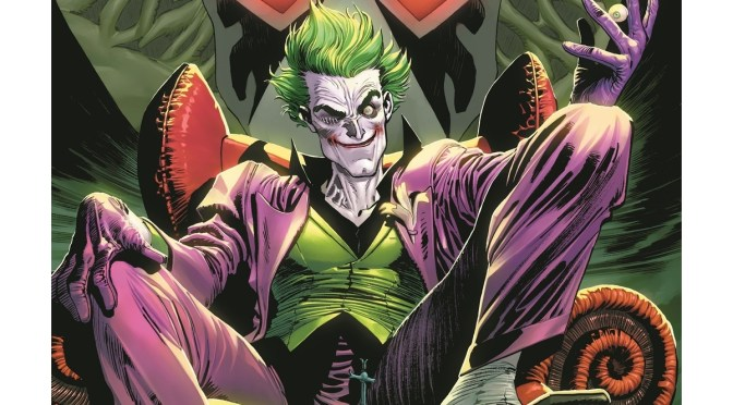 The Joker Faces A Worldwide Manhunt in A New Ongoing Series!