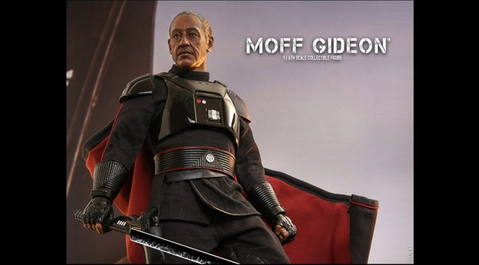 HOT TOYS RELEASED MOFF GIDEON TO THEIR MANDALORIAN STAR WARS SERIES 1/6