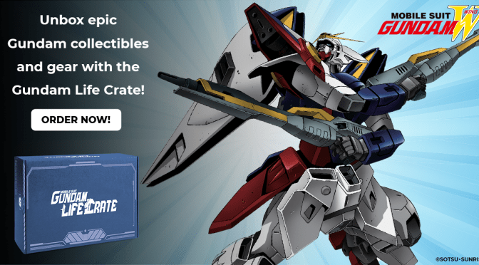 The Mobile Suit Gundam Life Crate is Here!!!