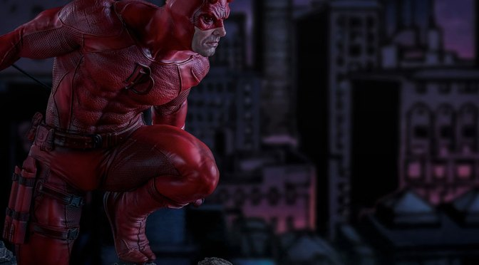 Now Available: Daredevil Statue by Iron Studios, Legacy Replica 1:4 – Marvel Comics