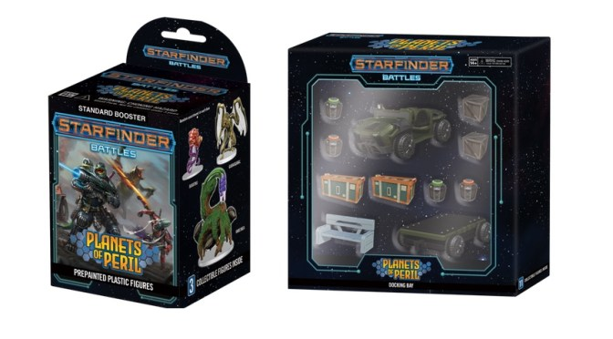 Wizkids Exclusive: Starfinder Battles: Planets of Peril – In cooperation with Paizo