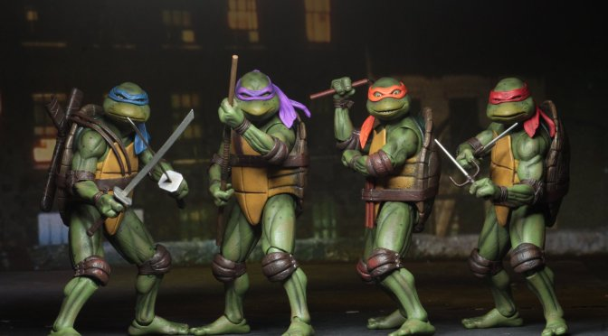 "NECA celebrates the Anniversary of the 1990 ""Teenage Mutant Ninja Turtles"" movie"