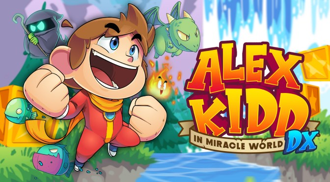 ¡Alex Kidd en Miracle World DX llega a PC y consolas el 24 de junio!