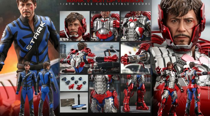 HOT TOYS UNVEILS DELUXE TONY STARK FIGURE INSPIRED BY IRON MAN 2