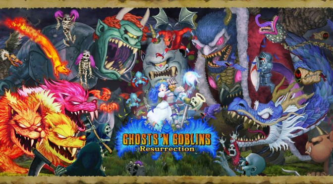 Enter the Demon Realm in Ghosts 'n Goblins Resurrection, Available Now on PlayStation 4, Xbox One and Steam