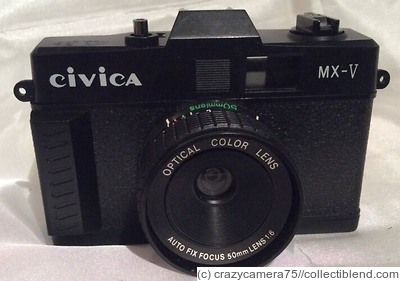 New Taiwan: Civica MX-V (Optical Color Lens) camera