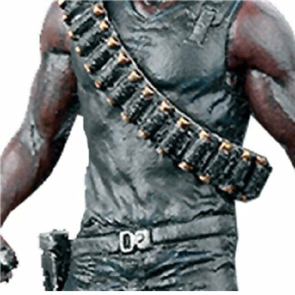 Marvel Blade Figurine chest closeup