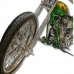 Harley-Davidson Softail Motorcycle front view