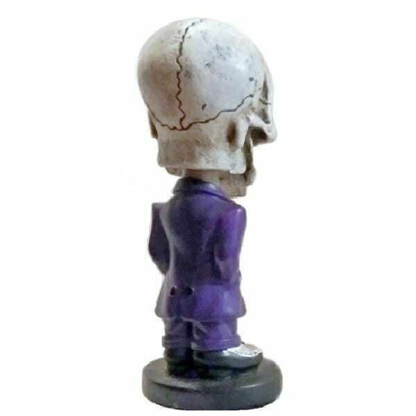 Skull Wobblin Goblin Bobblehead back view