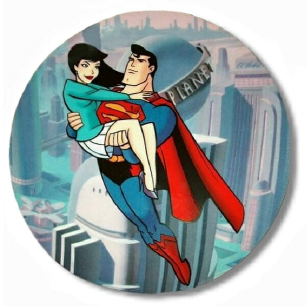 Superman and Lois Lane Plate