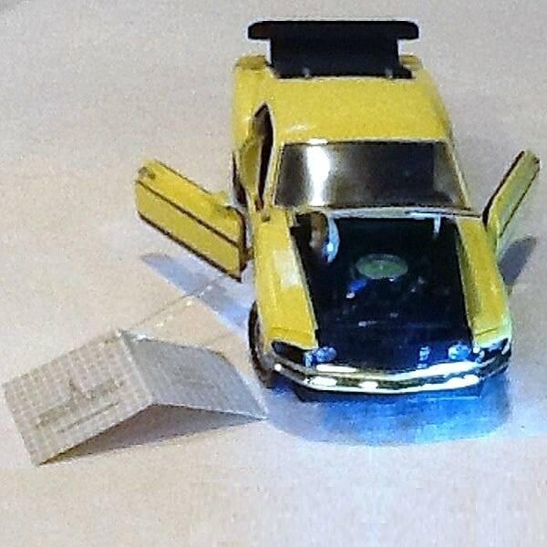 1969 Boss 302 Scale Model Car