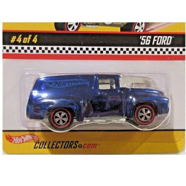 Hot Wheels Redline 56 Ford close up