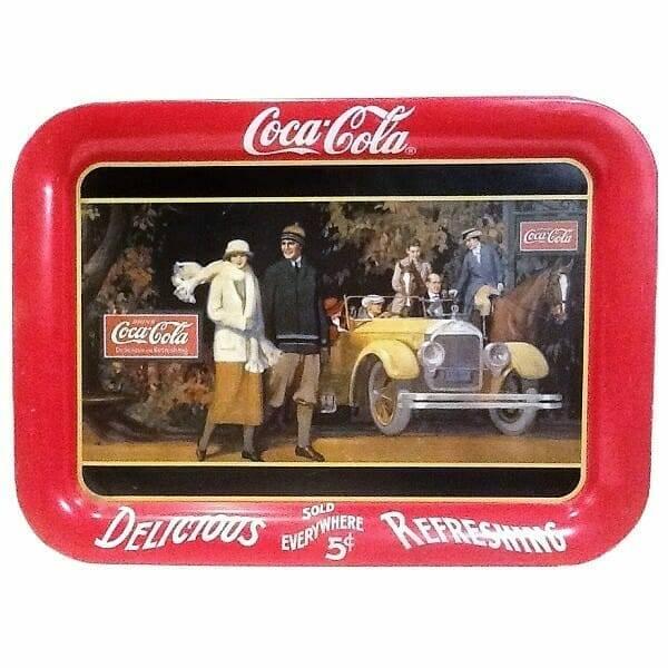 Classy Coca-Cola Tray