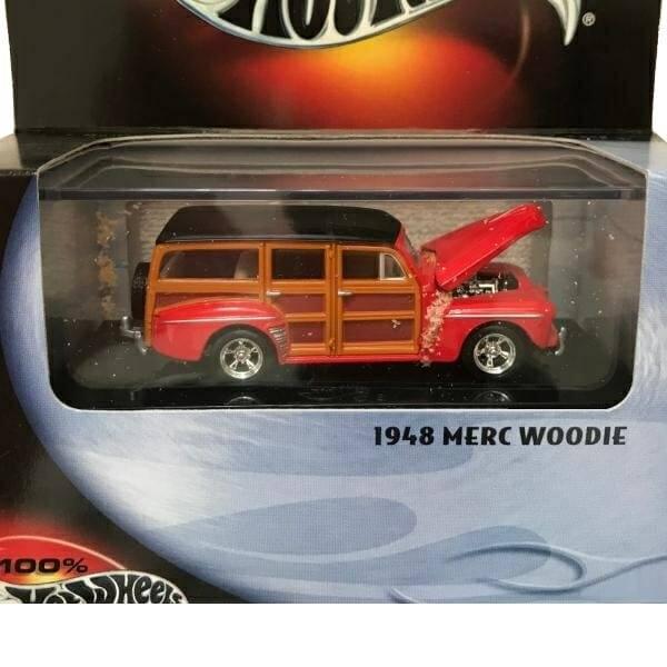 Merc Woodie Hot Wheels close up