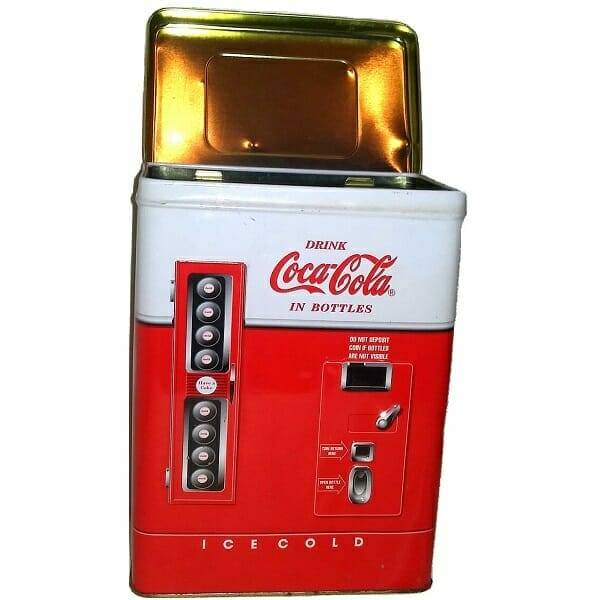 Coke Vending Machine Tin