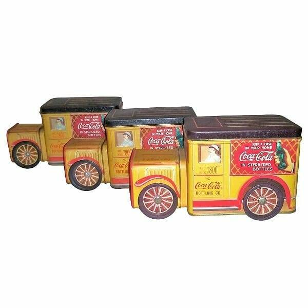 Coke Delivery Truck Tins