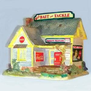 Lilliput Lane Coke Bait Shop
