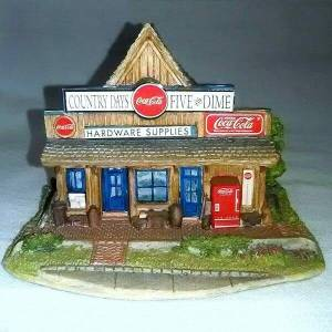 Lilliput Lane Coke Five & Dime