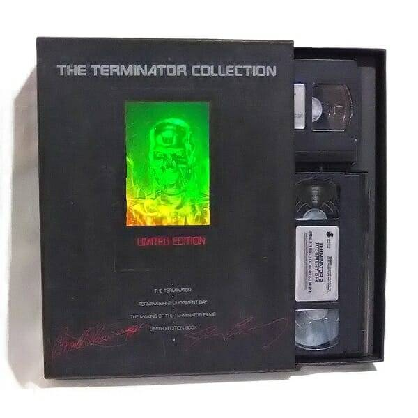 Terminator Collection On VHS