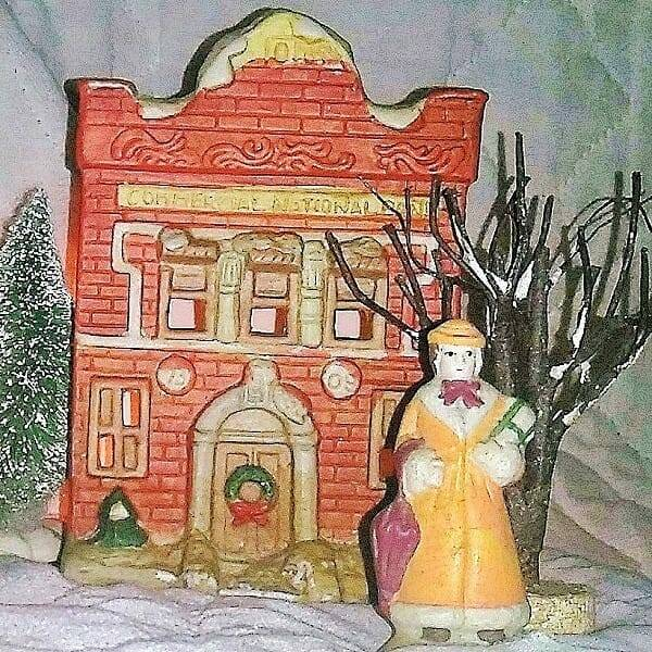 60s Ceramic Holiday Villiage pic 7