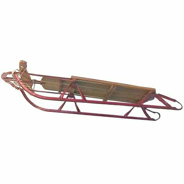 70s Fast Paricon Steering Sled side view