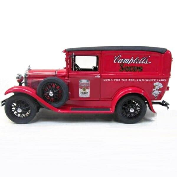 Campbells Soup Panel Truck