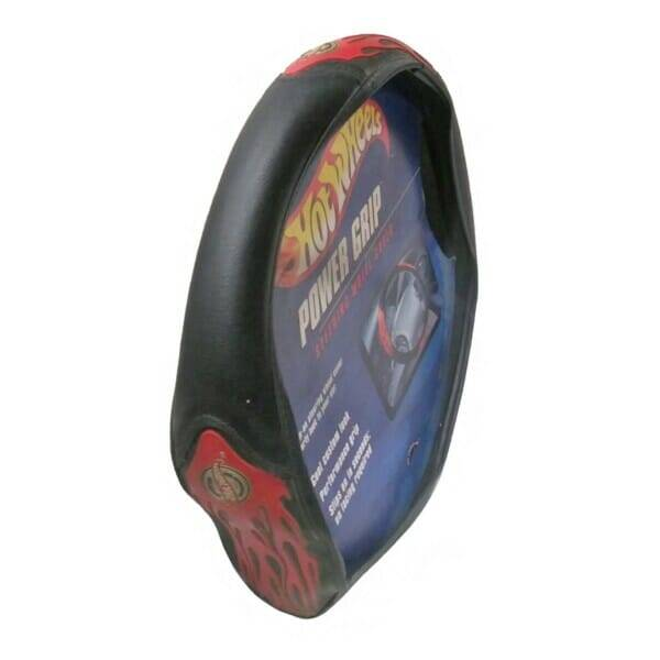 Flames Steering Wheel Cover side view