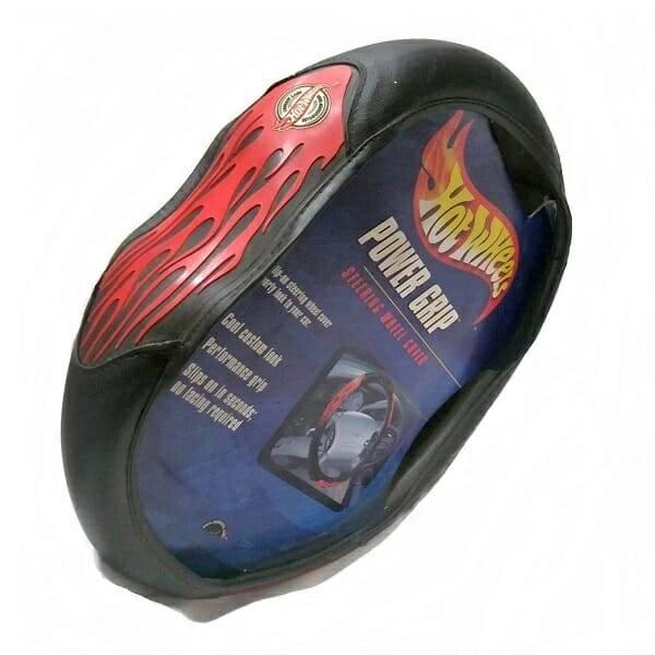 Flames Steering Wheel Cover