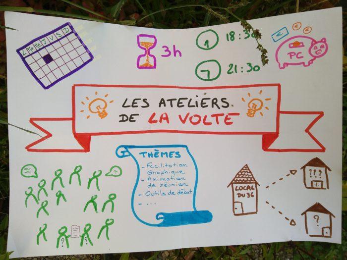 Les Ateliers de la Volte : les Jeux (17 avril et 15 mai)