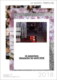 La Galerie Trampoline ré-ouvre ses portes le dimanche 1 Avril 2018