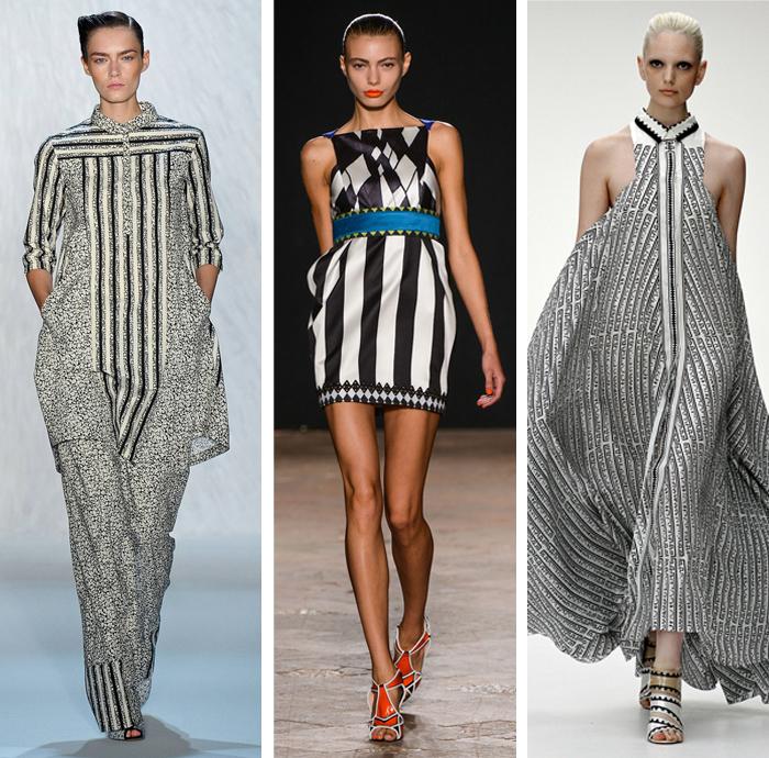 Suno - Aquilano Rimondi - Mary Kantratzou - Spring 2013 - Stripes