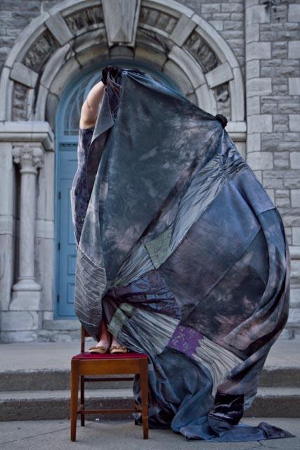 Roxane Chamberland - Tapisserie - Performance 1