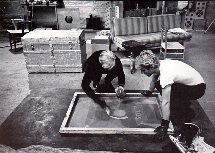 Andy Warhol - Screenprinting - 3