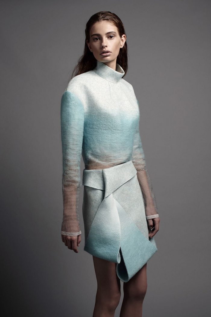 Dion Lee - Woolmark Collection - 2013 -2