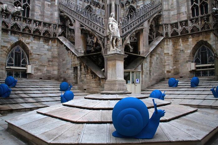 Cracking Art Group - Duomo Cathedral - Milano