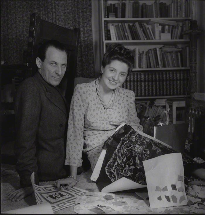 NPG x195053; Zika Ascher; Lida Ascher by Francis Goodman