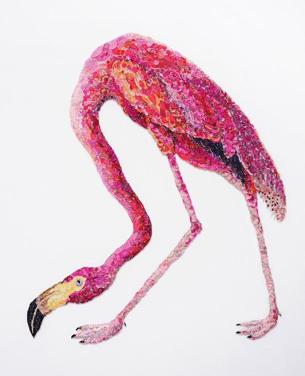 Louise Saxton - Flamingo