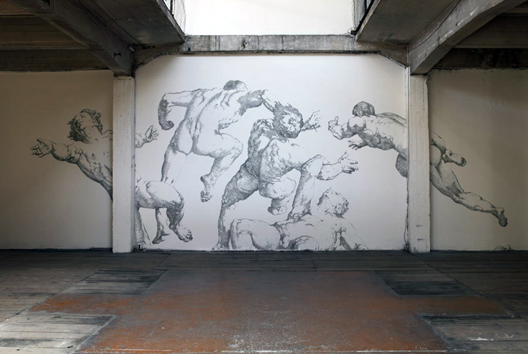 Baptiste Debombourg - Aggravure III - 2011