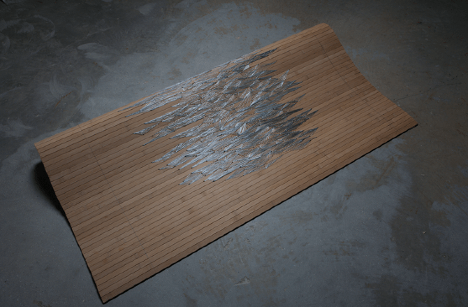Coralie Bonnet - Flexible Bamboo Surface