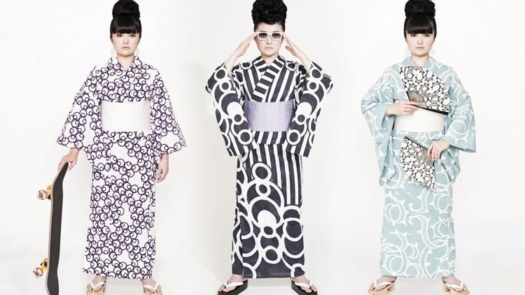 Takahashi Hiroko - Kimono